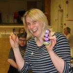 Hannah and the winning egg